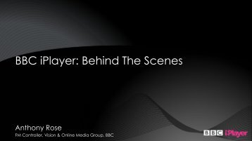 BBC iPlayer: Behind The Scenes - Bell Labs