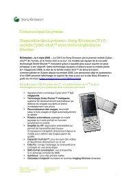 Sony Ericsson C510 - vademecom