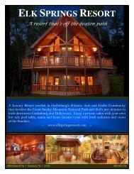 2 Bedroom Cabins - Elk Springs Resort