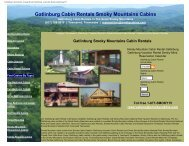 Gatlinburg Cabin Rentals Smoky Mountains Cabins - Smoky Cabins