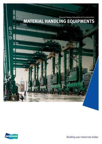 Material handling equipments - Doosan