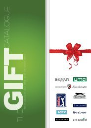 the gift catalogue