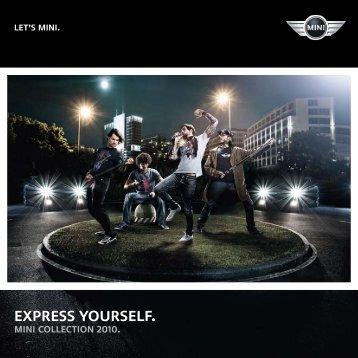 EXPRESS YOURSELF. - MINI.com.au