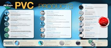 The full range of PVC pipe. - JM Eagle