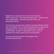 Handleiding Sony Ericsson C905 sony-ericsson ... - Portable Gear