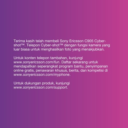 Mendapatkan Seperangkat Program Bantu, Penyimpanan - Sony