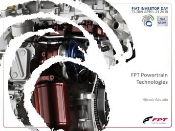 FPT 2010-2014 Plan - FIAT Industrial