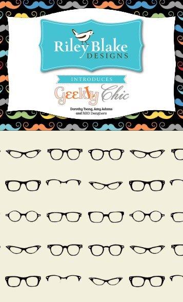 Geekly Chic - Riley Blake Designs