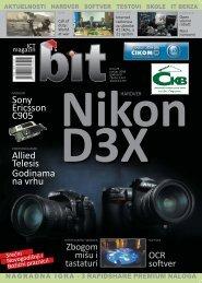 Sony Ericsson C905 Allied Telesis Godinama na ... - ICT magazin BIT