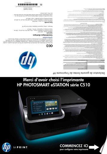En vertu de votre contrat d - Hewlett Packard