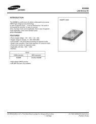 KS0086 LCD Driver IC - Display Future