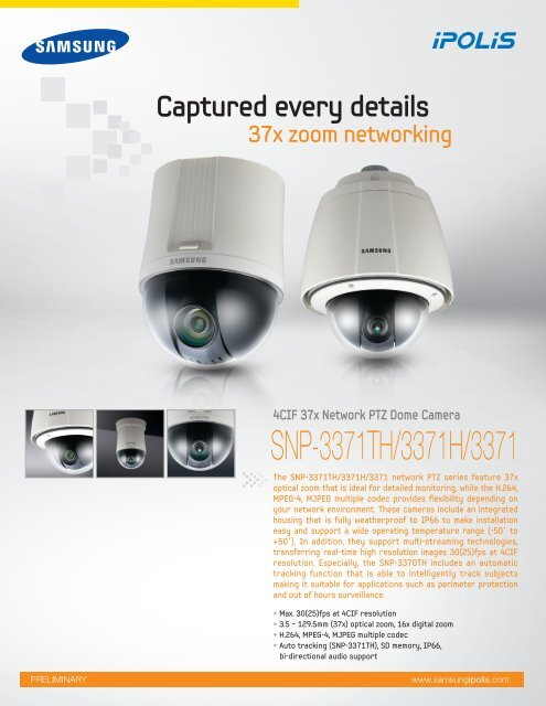 Samsung SNP-3302 Network Camera Update