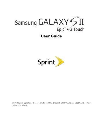overdrive pro 3g 4g mobile hotspot user guide sprint rh yumpu com Clip Art User Guide User Manual