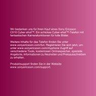 Angebote, Informationen Zu Neuheiten Und ... - Sony