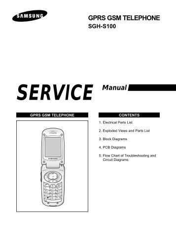 Руководство Samsung Sgh-X210