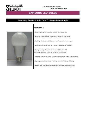 LED Bulbs-Samsung-Type C-7W - LED Lights