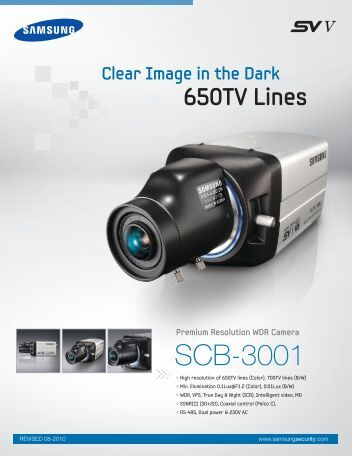 SCB-3001 - Samsung