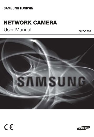 network camera - Samsung