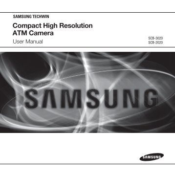 Compact High Resolution ATM Camera - Samsung