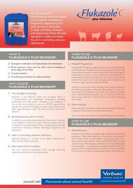 Download the Flukazole C plus Selenium Product Information