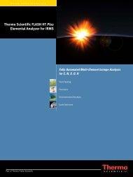 Thermo Scientific FLASH HT Plus Elemental Analyzer for IRMS