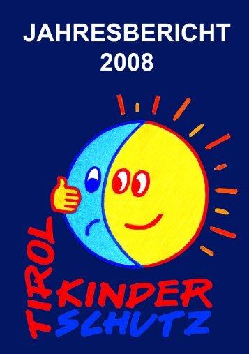 Jahresbericht 2008 (pdf 1,5 Mb) - Kinderschutzzentrum Innsbruck