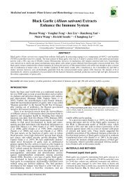 Black Garlic (Allium sativum) Extracts Enhance the Immune System