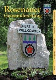 Rosenauer Gemeindezeitung Ausgabe 2/2012 - Rosenau am ...