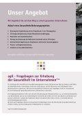 Imageflyer agil - AGIL Gesundheitsmanagement - Seite 6
