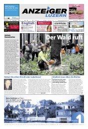 Anzeiger Luzern, Ausgabe 39, 26. September 2012