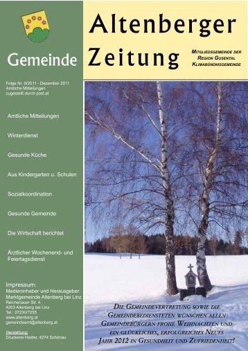 Dezember 2011 - Altenberg