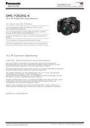 DMC-FZ62EG-K - Foto Basler Aarau