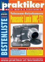 Lumix DMC-TZ1: Telezoom-Reisekamera Panasonic ... - praktiker.at