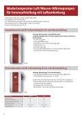 Zweistufige Luft/Wasser-Wärmepumpen für Innenaufstellung - Dimplex - Seite 6