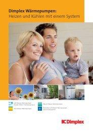 Dimplex Wärmepumpen: Heizen und Kühlen mit einem System