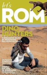 Let's ROM Dino Edition - Royal Ontario Museum