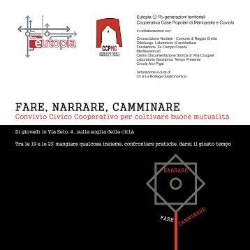Convivio programma completo.pdf - Comune di Reggio Emilia