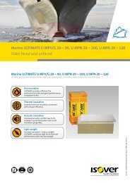 Marine ULTIMATE U MPV/G 20 – 90, U MPN 20 - Technical Insulation