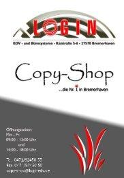 S/W: Kopie Oder Druck DIN A4 Einzelkopie - Login EDV