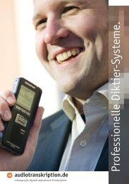 Professionelle Diktier-System e. - Audiotranskription.de