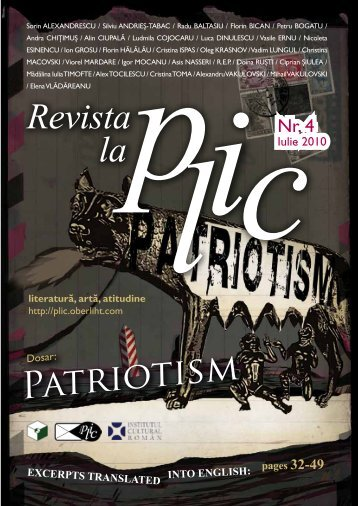 If we replace it, let's say, with civic responsibility - Revista la PLIC