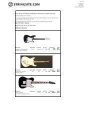 Kan du lide gode tilbud? - The String Site.com