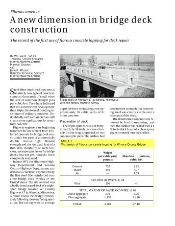 Nondestructive Testing To Identify Concrete Bridge Deck