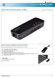 DIGITUS Wireless 150N Client Adapter, 150 Mbps - Ingram Micro