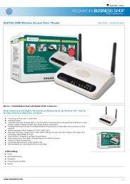 DIGITUS 300N Wireless Access Point / Router - zum Shop