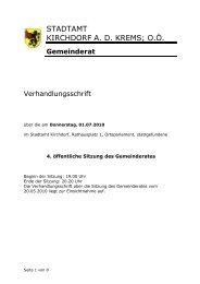 Katholische Jungschar Kirchdorf/Krems - Dizese Linz
