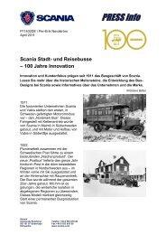 und Reisebusse – 100 Jahre Innovation