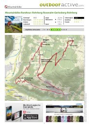 Rohrberg-Rosenalm-Gerlosberg-Rohrberg - E-mail: info ...