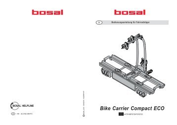 Bike Carrier Compact ECO