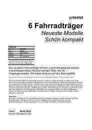 getestet 6 Fahrradträger Neueste Modelle Schön ... - Hapro Shop